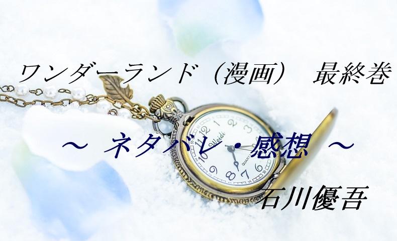 ワンダーランド(漫画)最終巻のネタバレと感想