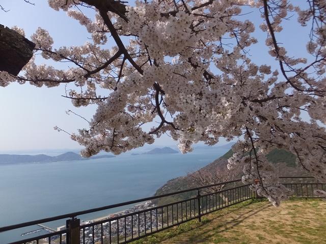 屋島山上展望台からの景色