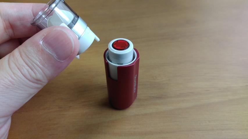 シャチハタのインク補充方法