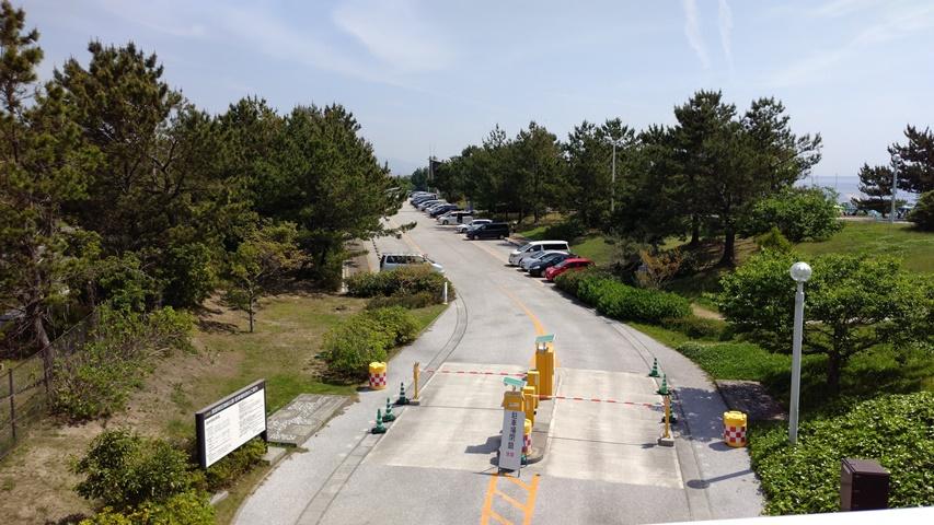 明石海峡公園海岸南駐車場